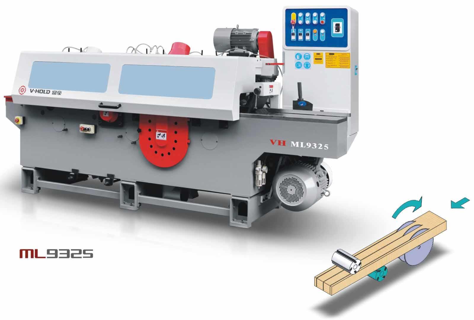 富豪锯刨联合一体机 VH-ML9325