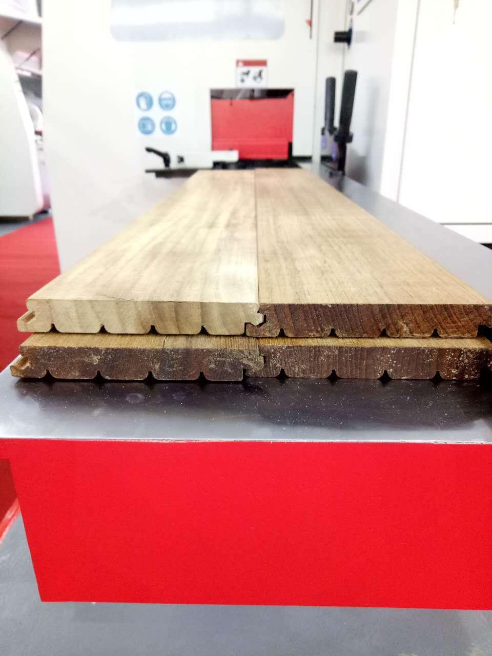 V-HOLD 4-Side Moulder VH-M721(Solid wood floor click joint)